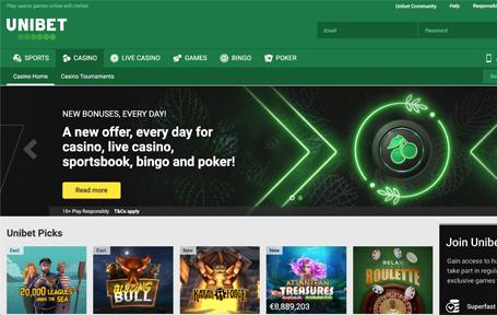 Unibet Casino Review